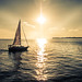 Sailing into The Sun by A Great Capture
