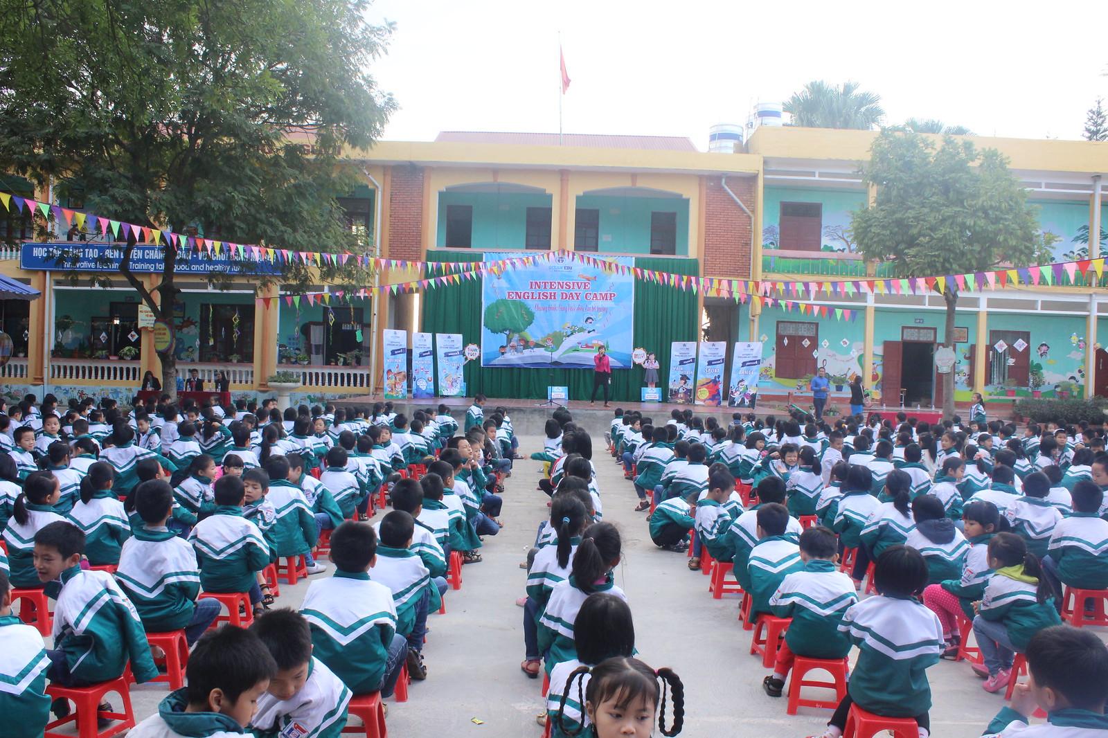 Ocean Edu Intensive English Day Camp held at Dĩnh Kế, Bắc Giang