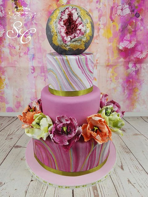 Cake by Justine Mitchell Cake Design