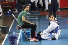 Echa with coach Riga