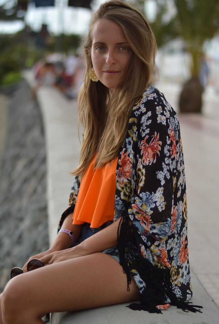 kimono at the beach, wildflower girl, fashion blog (4)