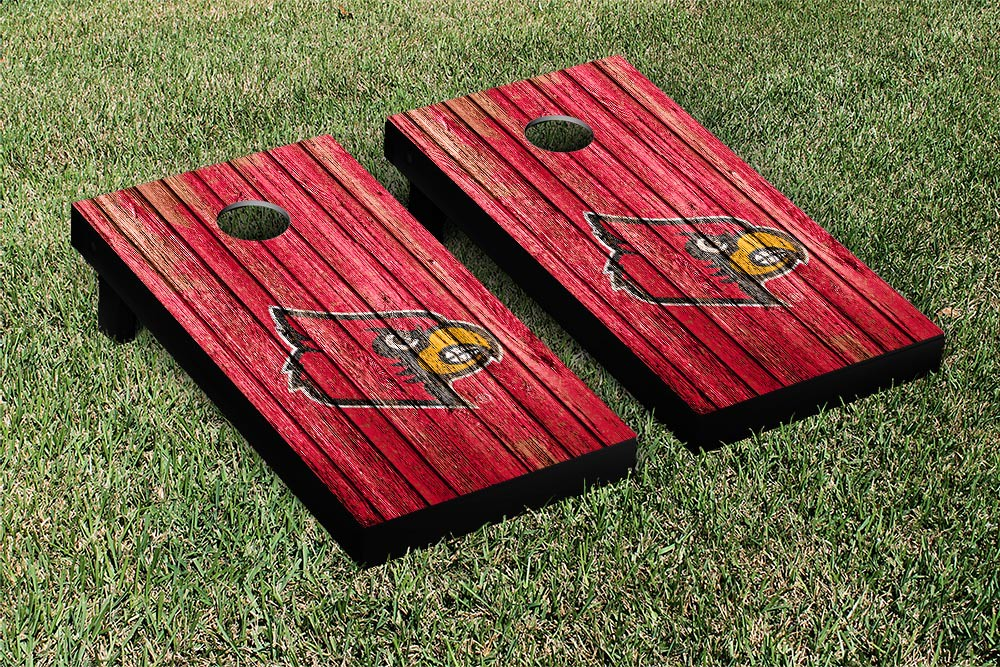 Louisville Cardinals Weathered Version