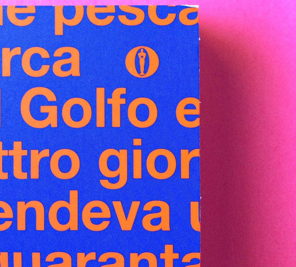 Oscar Mondadori / ied: edizione speciale di 10 titoli per i 50 anni degli Oscar. Art direction: Giacomo Callo. Copertina (part.) 10