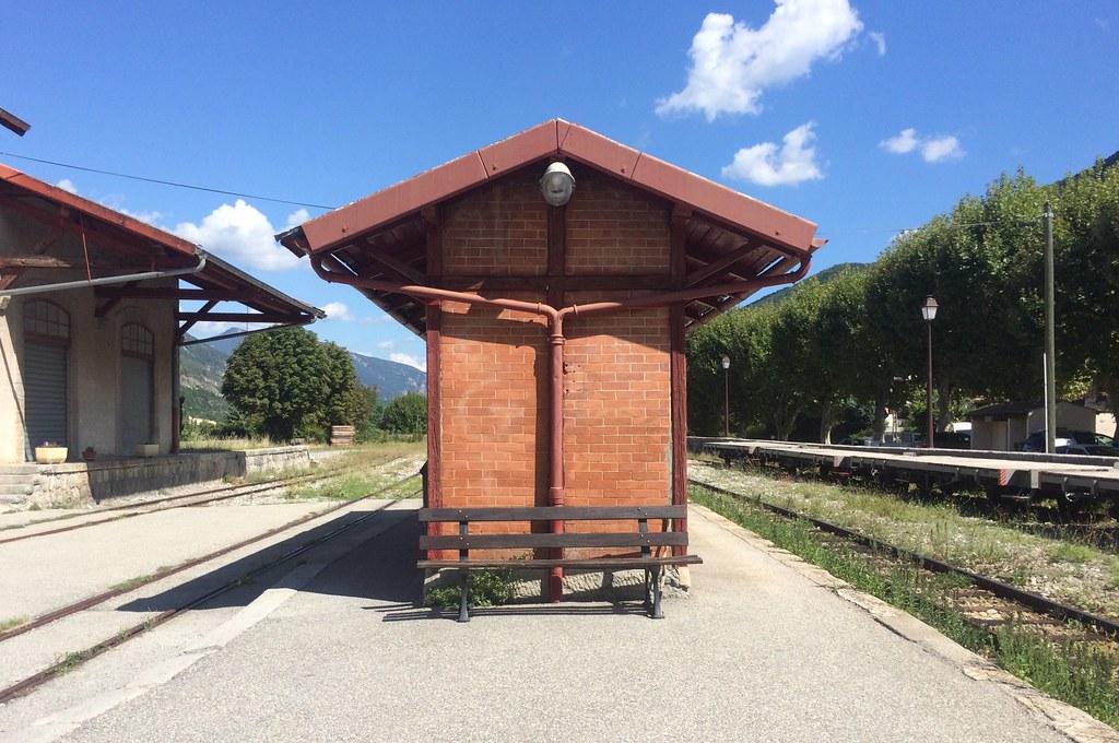 Gare d'Entrevaux