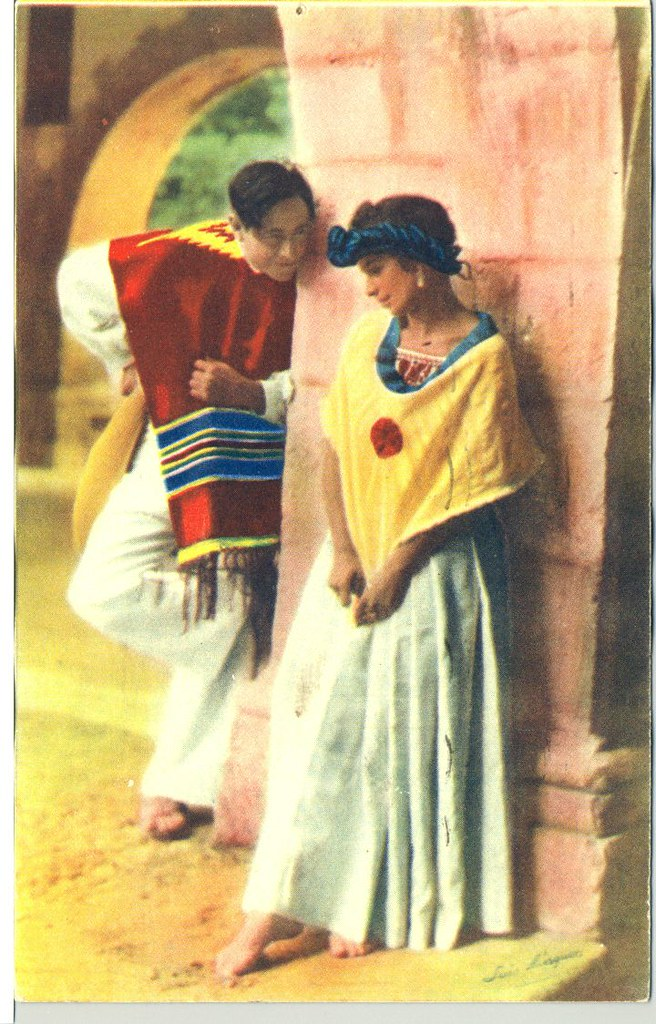 postcards Vintage mexican