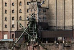 Architecture industrielle sur les bords du Rhin (Allemagne)
