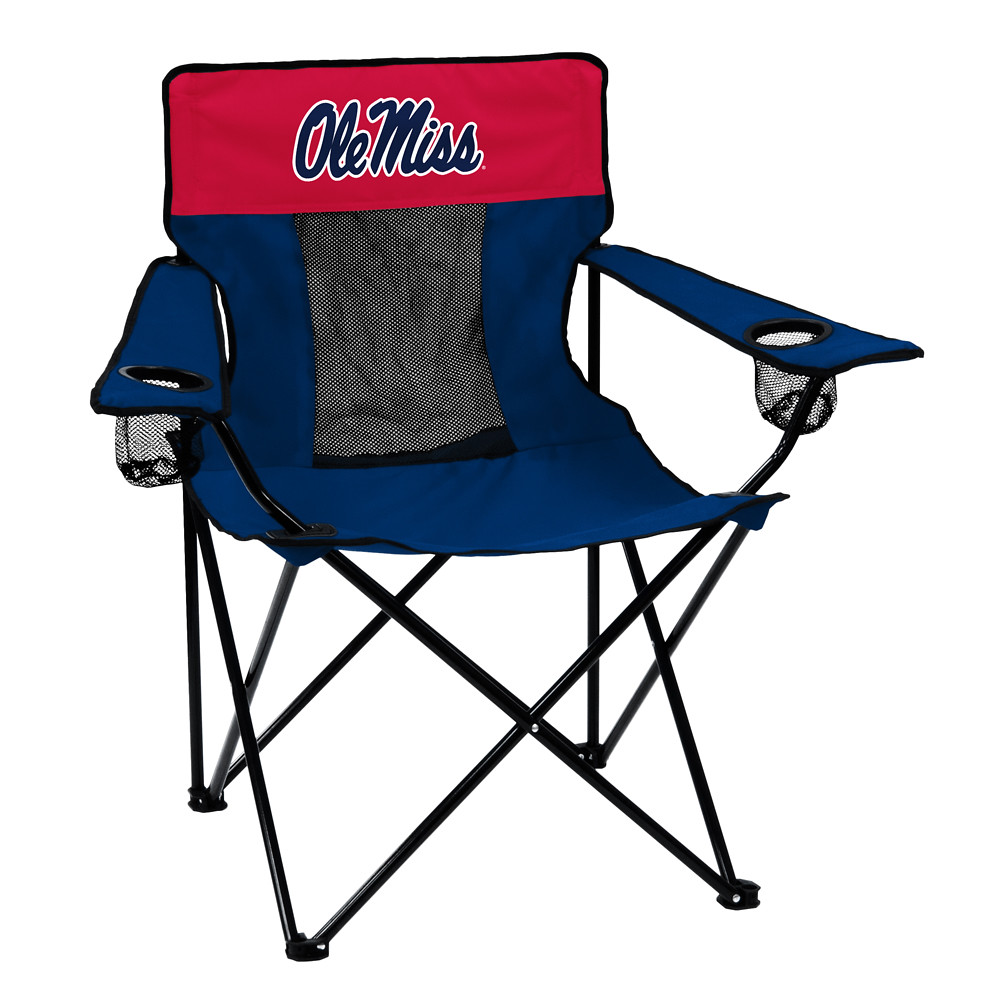 Ole Miss Elite TailGate/Camping Chair