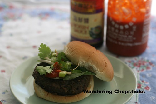 Pho Burger with Vietnamese Beef Noodle Soup Spices 2