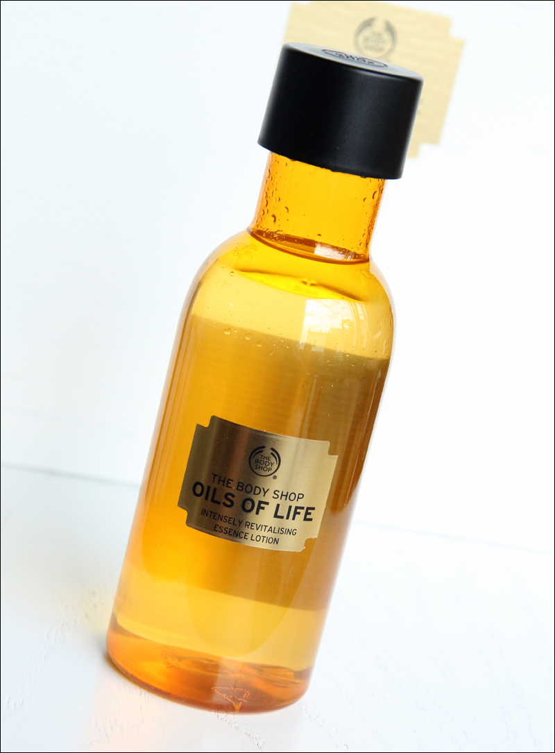 TBS oils of life intensely revitalising essence lotion