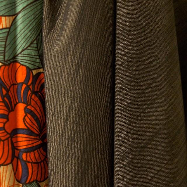 Fall Sewing 2015_grey suiting and Akita print