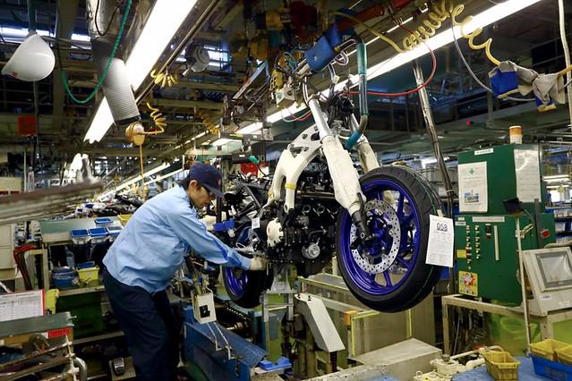 ヤマハ発動機 バイク 工場見学 オートバイ