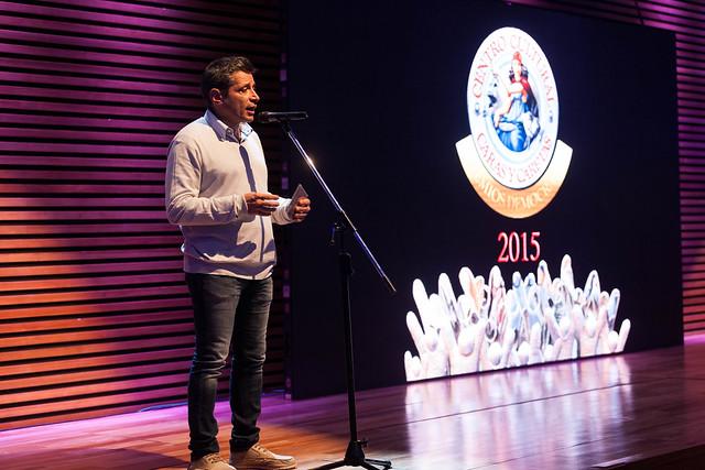 Premios Democracia 2015 - Víctor Santa María