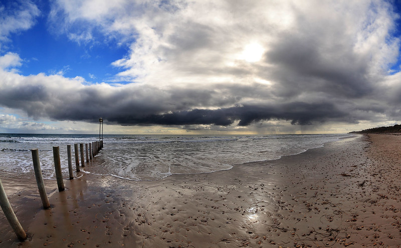 Storm front, Aldinga Beach