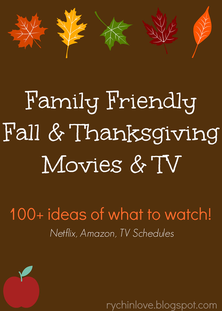 Family Friendly Fall & Thanksgiving TV