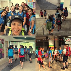 Trained with the #Bhutan trip #uwcsea_east crew today. Looking forward to meeting you, Bhutan. 5000m here we come. #uwclearn #uwcsea_outdoored #octoberbreak
