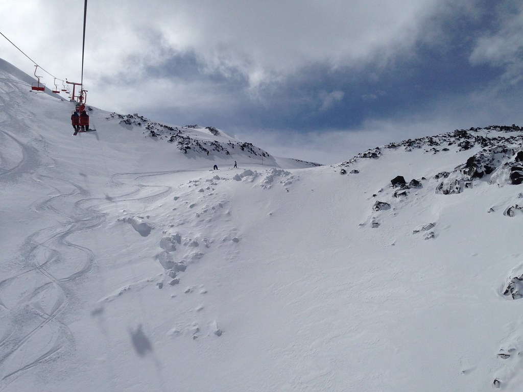 Fresh tracks at Condor