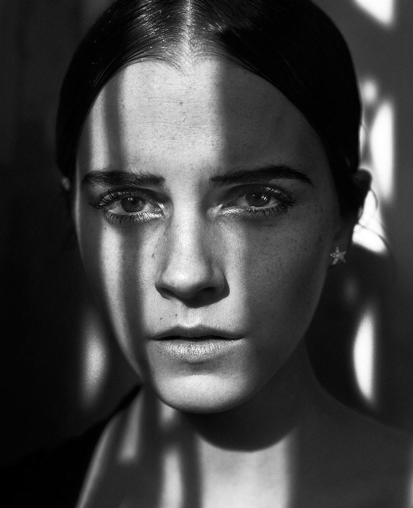 Эмма Уотсон — Фотосессия для «Vogue» IT 2015 – 7