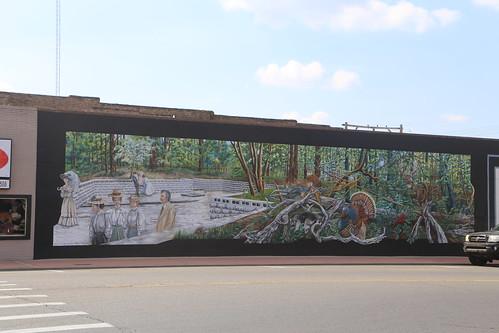 muralart magnoliaarkansas columbiacountyar
