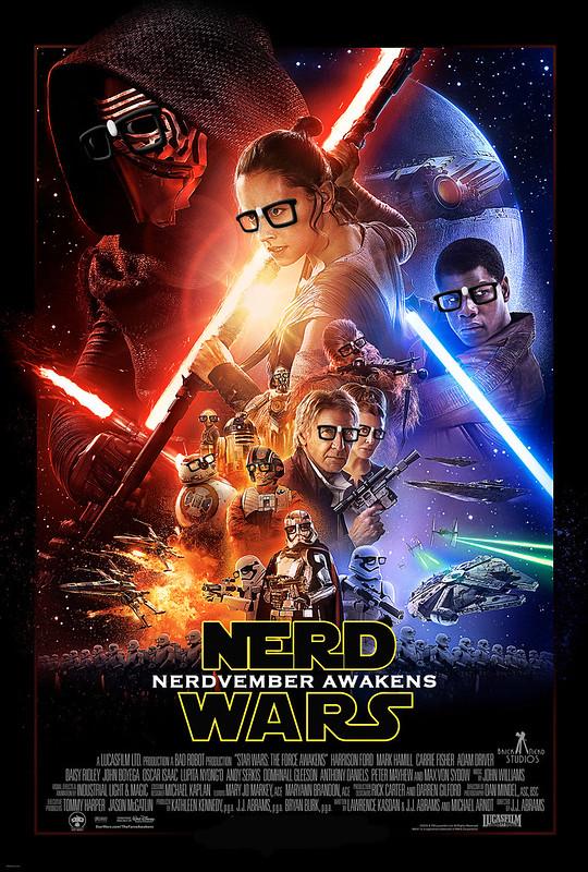 Nerd Wars - Nerdvember Awakens