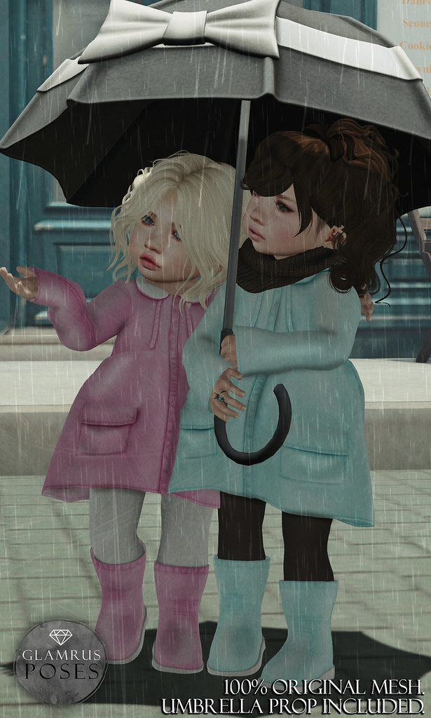 Glamrus Kids . Rain Buddies AD - SecondLifeHub.com