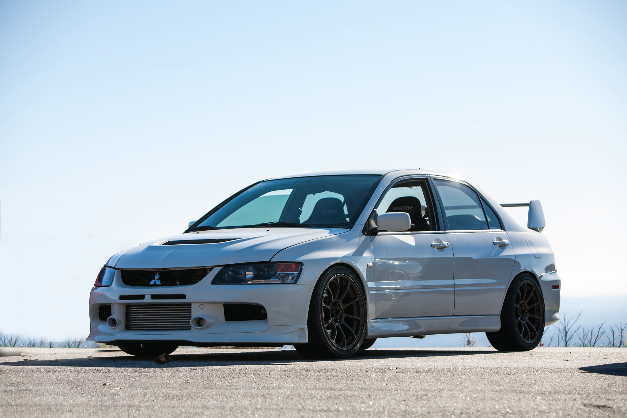 Mitsubishi Evo 11 Specs >> A Few Pictures of my White IX MR - EvolutionM - Mitsubishi Lancer and Lancer Evolution Community