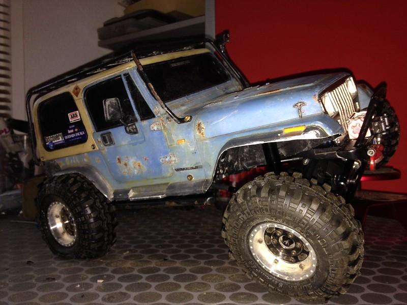 Jeep Wrangler YJ RcModelex 22978301891_cc1436409f_c