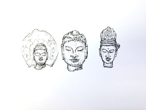 Three Busts