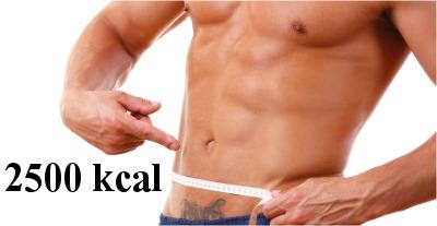 dieta 2500 kcal dla mężczyzn