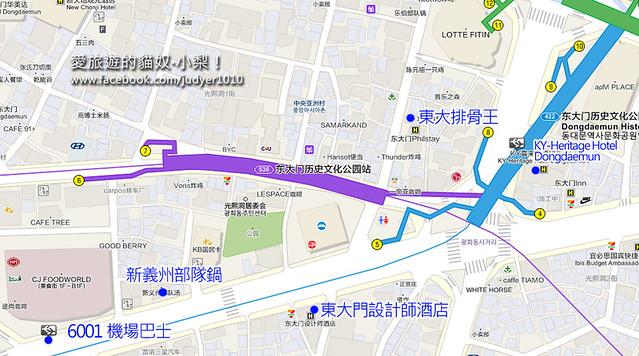 東大門歷史文化公園地圖