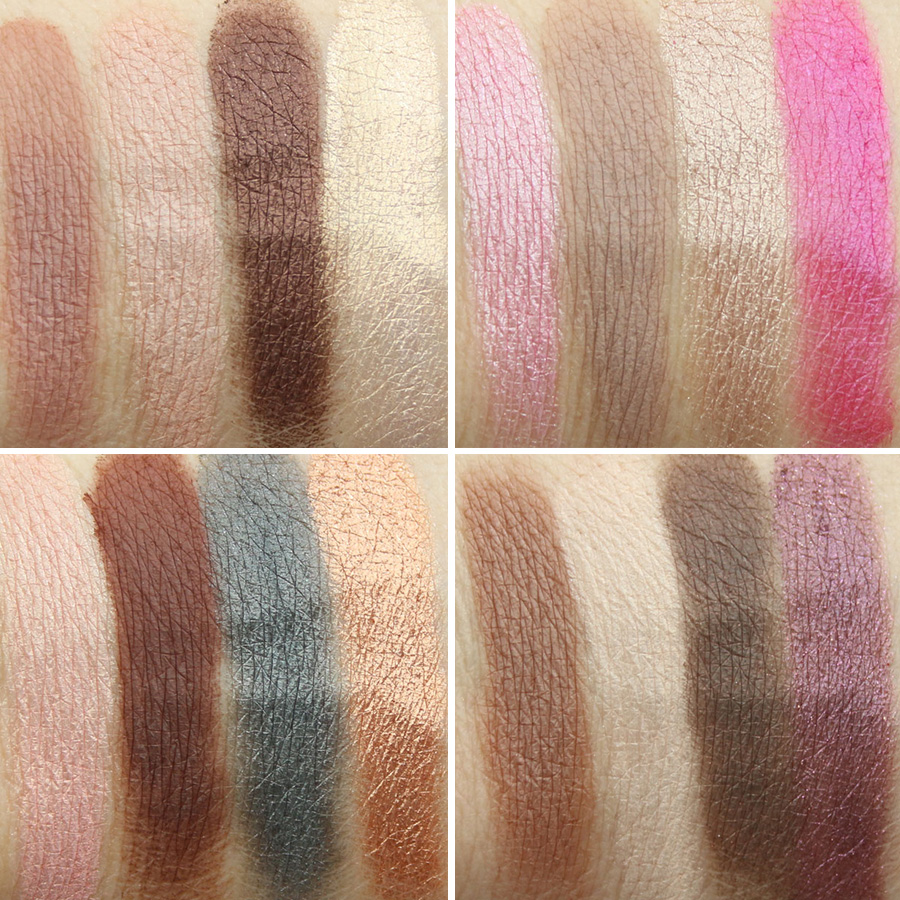 Too Faced Chocolate Bon Bons Eyeshadow Palette Swatches
