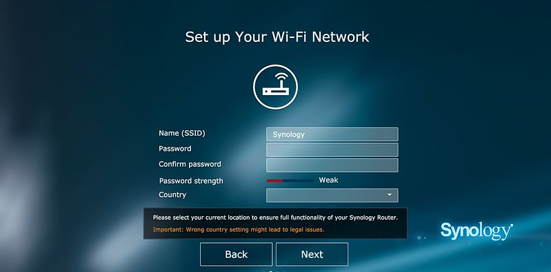 Synology Router RT1900ac - Setup 3