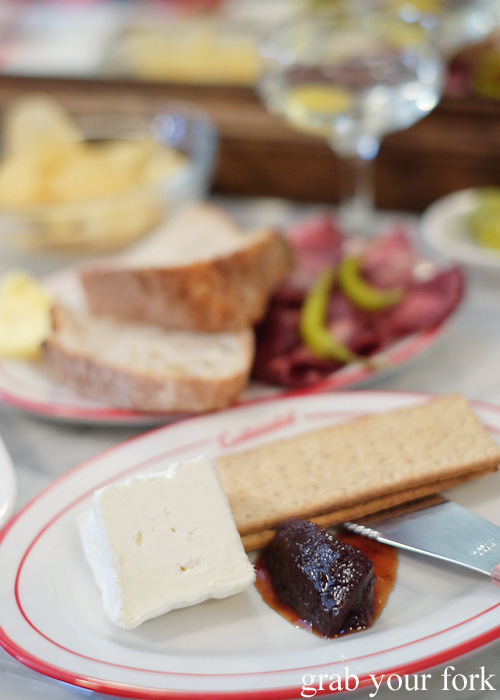 Brillat Savarin cheese at Continental Deli and Bistro, Newtown Sydney food blog review