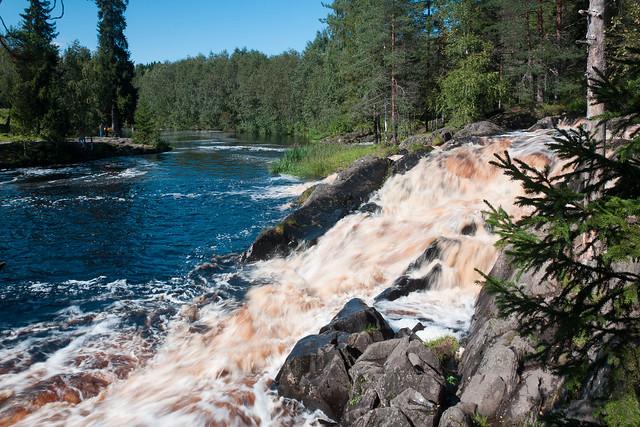 Ahvenkoski Falls