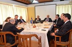 Sesión de Consejo de Rectores y G9 en Concepción