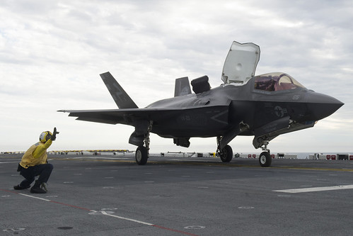 Image result for F-35 Lightning II Testing Begins on USS America