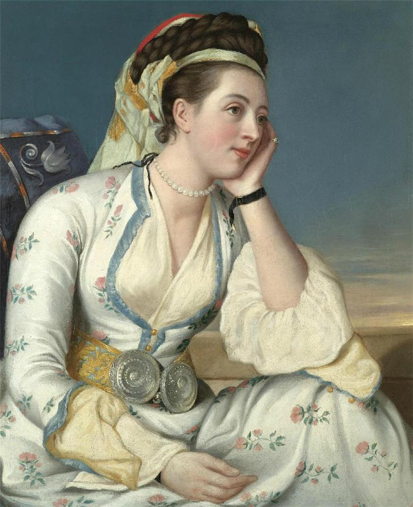 Countess of Coventry by Jean-Étienne Liotard, 1749