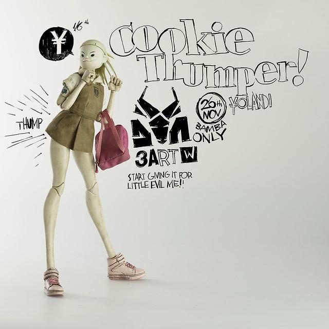 3ART【回答樂團:尤蘭蒂】DIE ANTWOORD COOKIE THUMPER ¥OLANDI 1/6 比例人偶作品