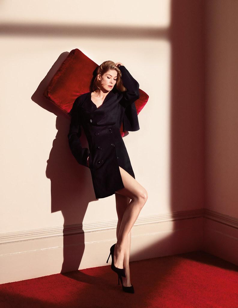 Розамунд Пайк — Фотосессия для «Dior» 2016 – 4