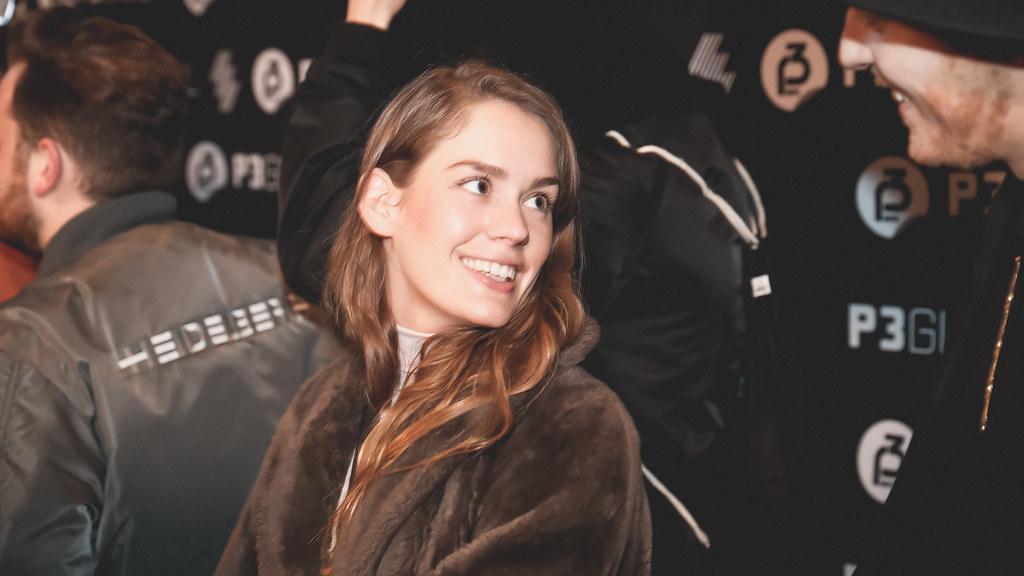 Anna of the North er en av kveldens nominerte, og hun er selvfølgelig med på festen!