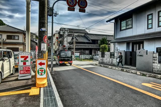 way to Takitani-fudoson, Tondabayashi, Osaka