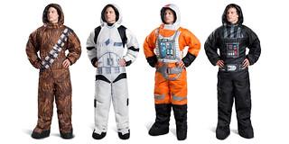 決定了!今年過冬在家就靠你啦~ 《星際大戰》穿著式睡袋 Wearable Star Wars Sleeping Bags by Selk'bag