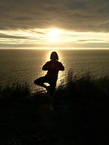 Yoga in the Midnight Sun