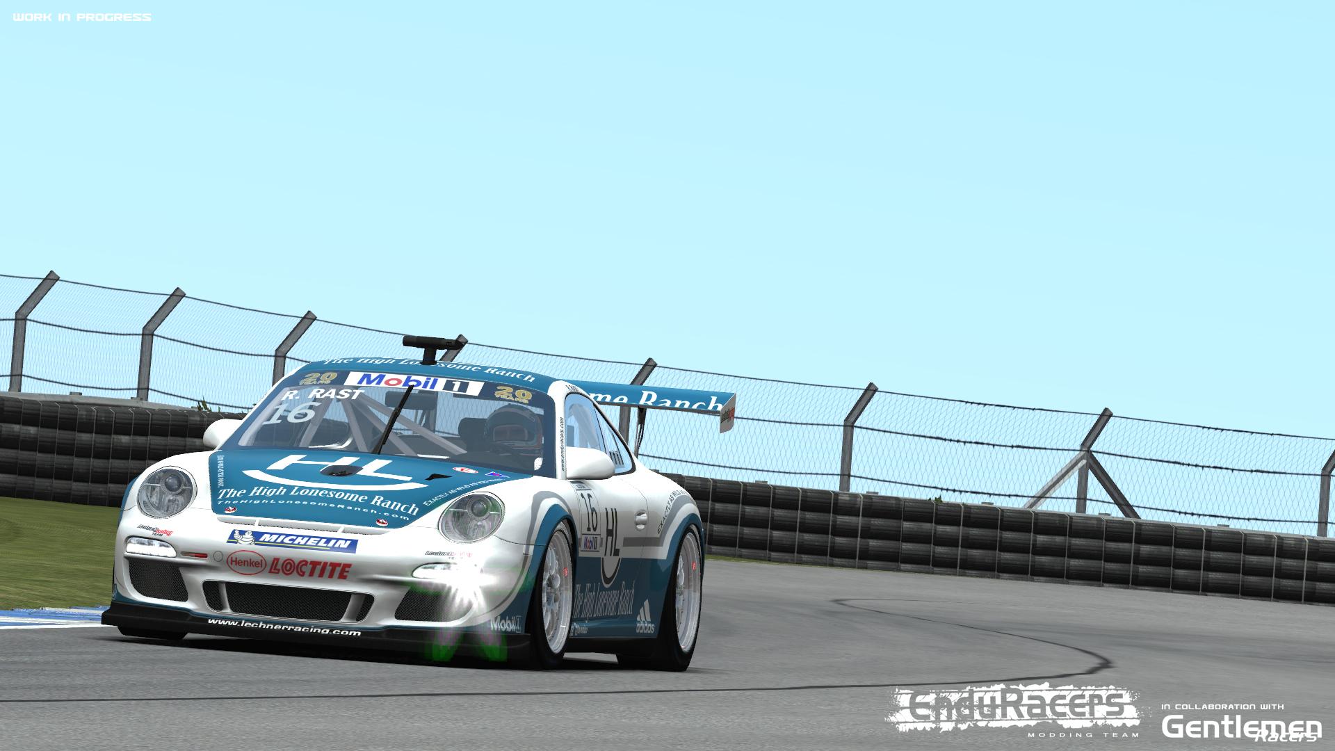 rFactor 2 - Flat 6 Series new screenshots  - Pitlanes Sim Racing