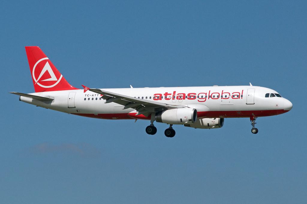 TC-ATT - A320 - Atlasjet