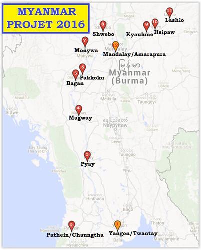 2016-Projet Myanmar (Birmanie)