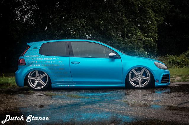 Blue Volkswagen Golf MK6