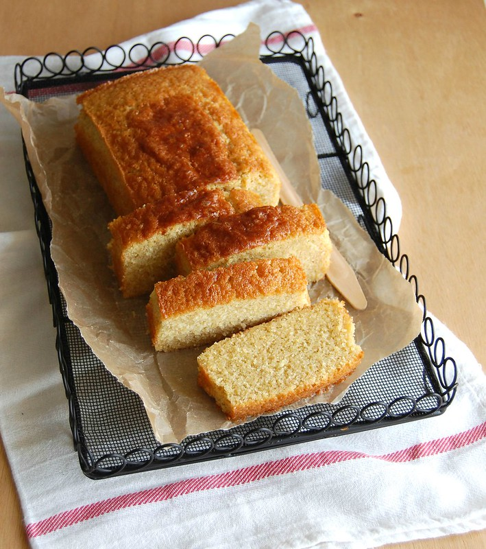 Orange Marsala pound cake / Bolo de laranja e Marsala