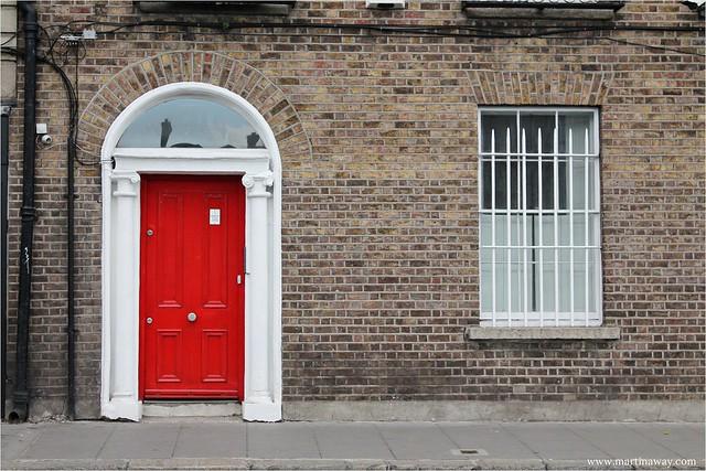 Una delle porticine di Dublino