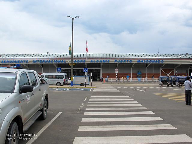 Arrival at Puerto Maldonado