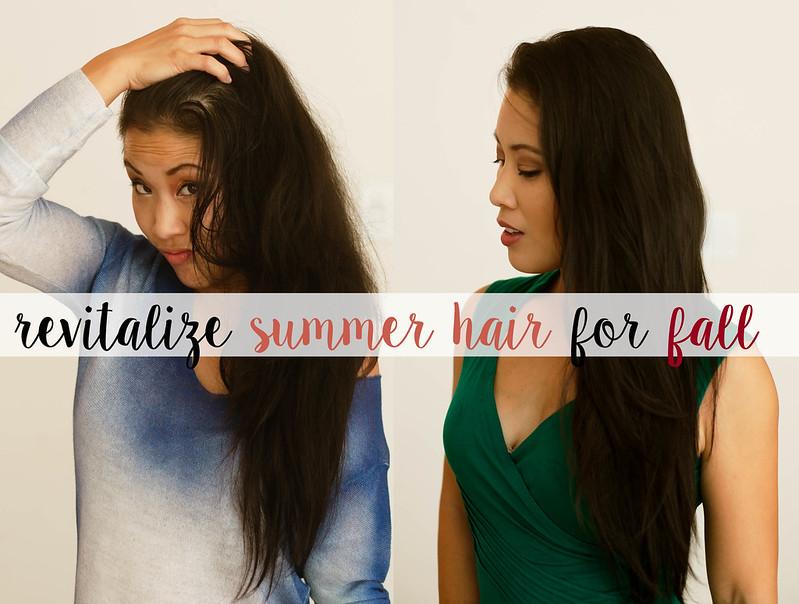 cute & little blog | revitalize summer hair for fall #StartWithCLEAR